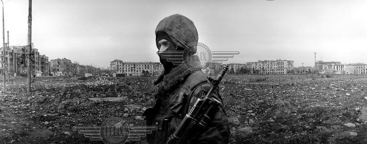 ©Heidi Bradner/Panos Picturers..Chechnya.