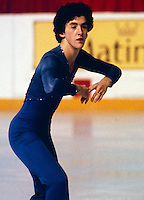 Brian Orser Canadian figure skater compete in 1980, Photo copyright Scott Grant.
