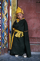 Monk in Litang, Kham, Eastern Tibet, 2005