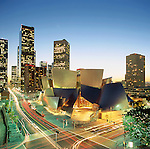 Disney Hall in Downtown Los Angeles