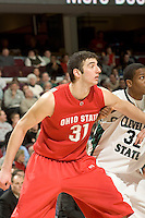 December 18, 2007: Ohio State University's Kosta Koufos #31, waits to grab a rebound in a game against Cleveland State. OSU defeated Cleveland State 80-63 in Cleveland, Ohio. Michael Ciu / CSM