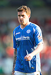 St Johnstone v Celtic&hellip;.McDiarmid Park, Perth.. 11.05.16<br />Danny Swanson<br />Picture by Graeme Hart.<br />Copyright Perthshire Picture Agency<br />Tel: 01738 623350  Mobile: 07990 594431