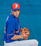 8 March 2015: New York Mets pitcher Steven Matz warms up prior to a Spring Training game against the Boston Red Sox at Tradition Field in Port St. Lucie, Florida. The Mets fell to the Red Sox 6-3 in Grapefruit League play. Mandatory Credit: Ed Wolfstein Photo *** RAW (NEF) Image File Available ***