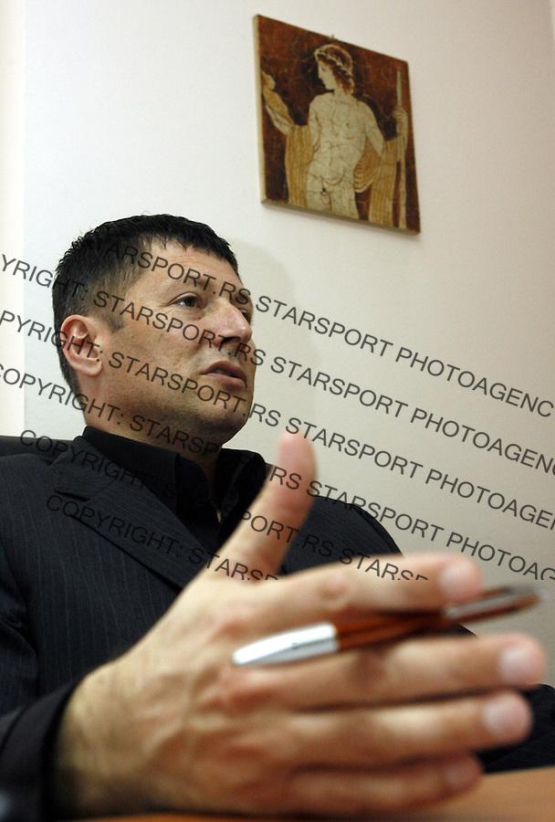 Atletika.Slobodan Brankovic, generalni sekretar Atletskog saveza Srbije.Beograd, 05.03.2008..foto: Srdjan Stevanovic