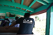 INDONESIA, Flores Archipelago, Manggarai country;  in a traditional bus truck