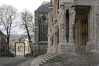 The North Porch, 13th century, Chartres Cathedral, Eure et Loir, France. Picture by Manuel Cohen