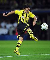 FUSSBALL   CHAMPIONS LEAGUE   SAISON 2012/2013   GRUPPENPHASE   Borussia Dortmund - Ajax Amsterdam                            18.09.2012 Ilkay Guendogan (Borussia Dortmund) Einzelaktion am Ball