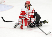 Kaleigh Fratkin (BU - 13) - The Boston University Terriers defeated the visiting Union College Dutchwomen 6-2 on Saturday, December 13, 2012, at Walter Brown Arena in Boston, Massachusetts.