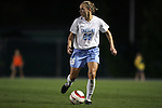 UNC's Lindsay Tarpley on Thursday, October 20th, 2005 at Fetzer Field in Chapel Hill, North Carolina. The University of North Carolina Tarheels defeated the North Carolina State University Wolfpack 1-0 during an NCAA Division I Women's Soccer game.