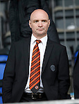 St Johnstone v Dundee United...26.09.15  SPFL   McDiarmid Park, Perth<br /> Dundee United Chairman Stephen Thompson<br /> Picture by Graeme Hart.<br /> Copyright Perthshire Picture Agency<br /> Tel: 01738 623350  Mobile: 07990 594431
