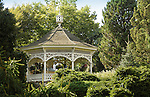 Peddler's Village. Bucks County, PA. Ornate gazebo.