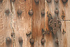 ancient wooden door<br /> <br /> antigua puerta de madera<br /> <br /> alte Holzt&uuml;r