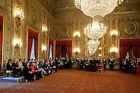 Roma, 28 Aprile  2013.Il governo Letta giura al Quirinale. ..