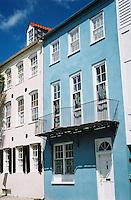 Photo of Rainbow Row Architecture in Charleston, SC