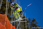 Norwegian Ski Team athlete Aksel Lund Svindal in the first training run of the Birds of Prey Alpine Skiing World Cup Downhill race at the Beaver Creek Resort in Avon, CO on November 27, 2012.