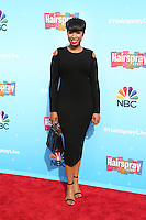 UNIVERSAL CITY, CA - NOVEMBER 16: Jennifer Hudson attends the press junket for NBC's 'Hairspray Live!' at the NBC Universal Lot on November 16, 2016 in Universal City, California (Credit: Parisa Afsahi/MediaPunch).