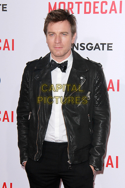 LOS ANGELES, CA - JANUARY 21: Ewan McGregor at the LA premiere of Mortdecai at TCL Chinese Theatre in Los Angeles, California on January 21, 2015. <br /> CAP/MPI/DC/DE<br /> &copy;DE/DC/MPI/Capital Pictures