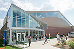 The Walter Fieldhouse was dedicated today. Photo by Ben Siegel/ Ohio University