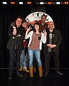 London, UK. 02.05.2013. Comedians Phill Jupitus, Mark Thomas, Omid Djalili, Imran Yusef and Isy Suttie at the Comedy Store, in advance of the STAND UP FOR FREE SPEECH benefit gig for Belarus Free Theatre on Monday 27th May. Belarus has the last remaining dictatorship in Europe and the Belarus Free Theatre was founded in March 2005 by.Natalia Kaliada and Nicolai Khalezin. Their performances are often done in secret and are subject to targeting and.censorship by the authorities. They sought political asylum in the UK in 2011 and created a new part of the company.in London. They continue their work with the permanent ensemble left behind in Minsk, who perform and tour around.the world as Belarus Free Theatre. The funds raised from this evening will help support freedom of expression and.will help the company in their work. Photograph © Jane Hobson.