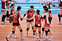 Japan Women's Volleyball Team Group (JPN),.MAY 23, 2012 - Volleyball : FIVB the Women's World Olympic Qualification Tournament for the London Olympics 2012, between Japan 1-3 Korea at Tokyo Metropolitan Gymnasium, Tokyo, Japan. (Photo by Jun Tsukida/AFLO SPORT) [0003].