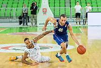20151007: SLO, Basketball - ABA League 2015/16, KK Union Olimpija vs KK Sutjeska