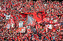Kashima Antlers fans,.MARCH 20, 2012 - Football / Soccer :.2012 J.League Yamazaki Nabisco Cup Group B match between Kashima Antlers 2-0 Vissel Kobe at Kashima Soccer Stadium in Ibaraki, Japan. (Photo by AFLO)