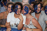 VENICE, ITALY - SEPTEMBER 04: Fans attend the premiere of 'Hacksaw Ridge' during the 73rd Venice Film Festival at Sala Grande on September 4, 2016 in Venice, Italy.<br /> CAP/GOL<br /> &copy;GOL/Capital Pictures /MediaPunch ***NORTH AND SOUTH AMERICAS ONLY***