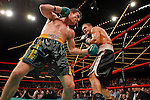 Mar 16, 2007; New York, NY, USA;  John Duddy defeats Anthony Bonsante via 9th round technical decision at the Theater at Madison Square Garden.
