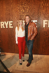 Kristin Bauer and Abri van St  Attend The Frye Company Flagship Opening Celebration at the Cunard Building, NY 9/9/11