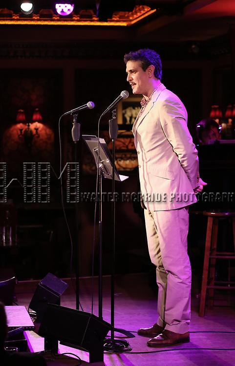Adam Feldman attends 2017 New York Drama Critics' Circle Awards Reception at Feinstein's/54 Below on May 18, 2017 in New York City.
