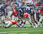 Ole Miss' Enrique Davis (27) in Grove Bowl in Oxford, Miss. on Saturday, April 16, 2011.