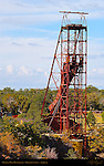 Orphan Mine Headframe, Copper and Uranium Mine, South Rim, Grand Canyon, Arizona