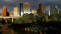 Houston skyline, 2013