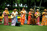 Hawaii: Honolulu, Hula at the Kodak Hula Show, near Waikiki Beach. Photo:hihono106.Photo copyright Lee Foster, 510/549-2202, lee@fostertravel.com, www.fostertravel.com
