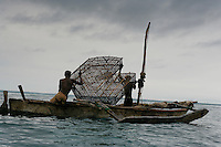 Artesianal fishermen off the coast of Tanga sell to Sea Products.  Sea Products moves Octopus, Squid, Cuttlefish to Europe.  Mostly Italy and Greece.  They also have a coelacanths fish in their freezer being held for a museum.  Coelacanths are fossil fish that bridge the gap between fish and mammals.  You can see their fins starting to become legs.