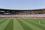 GLENDALE, AZ - MARCH 11:  A general view of The Ballpark at Camelback Ranch as 11,599  fans attend the game between the Chicago White Sox and Chicago Cubs on March 11, 2011 in Glendale, Arizona. The Cubs defeated the White Sox 4-3.  (Photo by Ron Vesely)