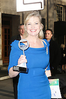 Carol Kirkwood at The 2013 TRIC Awards Departures at The Great Room The Dorchester Hotel Park Lane London 13 March 2013