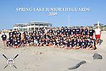 2009 Spring Lake New Jersey Junior Lifeguard Team photo
