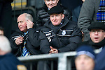 St Johnstone v Rangers...14.01.12  .Steve Lomas watches from the stand.Picture by Graeme Hart..Copyright Perthshire Picture Agency.Tel: 01738 623350  Mobile: 07990 594431