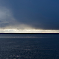 Clouds over Vestfjord, Lofoten islands, Norway