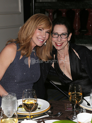 BEVERLY HILLS, CA - April 07: Leeza Gibbons, Abbe Land, At 4th Annual unite4:humanity Gala_Inside At Madame Tussauds  In California on April 07, 2017. Credit: FS/MediaPunch