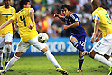 (R-L) Fumiya Hayakawa (JPN), Matheus (BRA),JULY 3, 2011 - Football :2011 FIFA U-17 World Cup Mexico Quarterfinal match between Japan 2-3 Brazil at Estadio Corregidora in Queretaro, Mexico. (Photo by AFLO)
