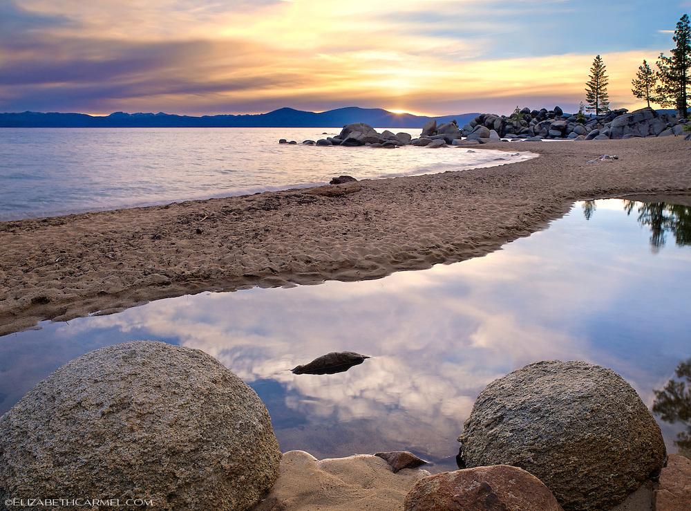 Sunset, Chimney Beach