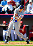 6 March 2010: New York Mets' infielder Mike Jacobs in action during a Spring Training game against the Washington Nationals at Space Coast Stadium in Viera, Florida. The Mets defeated the Nationals 14-6 in Grapefruit League action. Mandatory Credit: Ed Wolfstein Photo