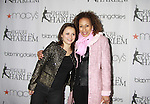 As The World Turns Tamara Tunie (Law and Order SVU) poses with Figure Skater Sasha Cohen at the 2012 Skating with the Stars - a benefit gala for Figure Skating in Harlem celebrating 15 years on April 2, 2012 at Central Park's Wollman Rink, New York City, New York.  (Photo by Sue Coflin/Max Photos)