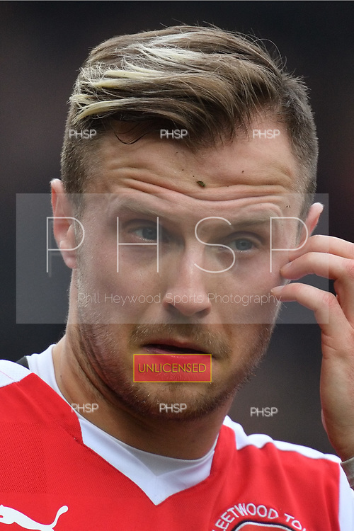 11/03/2017 Sky Bet League 1 Fleetwood Town v Bolton Wanderers<br /> <br /> David Ball, Fleetwood Town FC