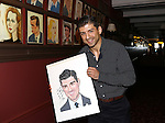 Tony Yazbeck honored with Sardi's Portrait