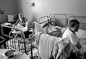 Kirov, Russia  .March 1999.Daily life in Kirov?s Boarding House for Labor Camp & War Veterans...