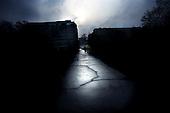 Warsaw 07.04.2008 Poland<br /> The destruction road in one of the Warsaw's park<br /> (Photo by Adam Lach / Napo Images for Newsweek Polska)<br /> <br /> Zniszczona droga w jednym z warszawskich parkow<br /> (Fot Adam Lach / Napo Images dla Newsweek Polska)