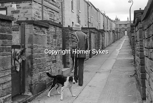 Saltaire near Bradford West Yorkshire England 1981. World Heritage Site